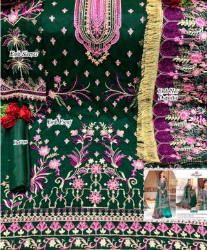 RAMSHA 254 PAKISTANI SUITS WHOLESALER SURAT