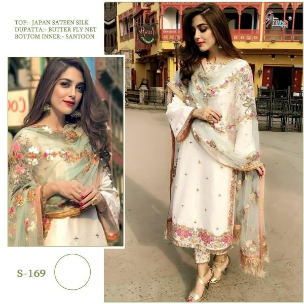 SHREE FABS S 169 WHOLESALE PAKISTANI SUITS