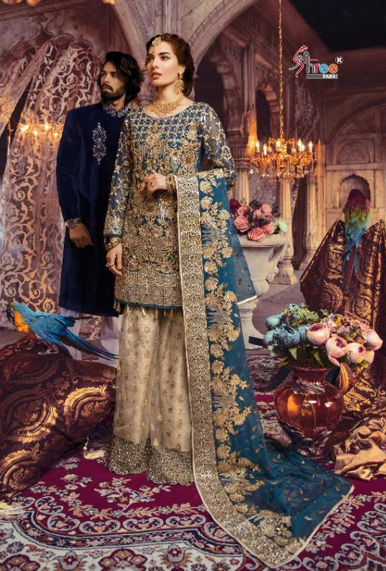 SHREE FABS S 222 MARIYA B BRIDAL VOL 2