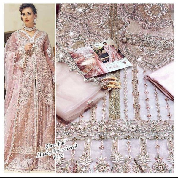 SHREE FABS S 204 WHOLESALE PAKISTANI SUITS ONLINE