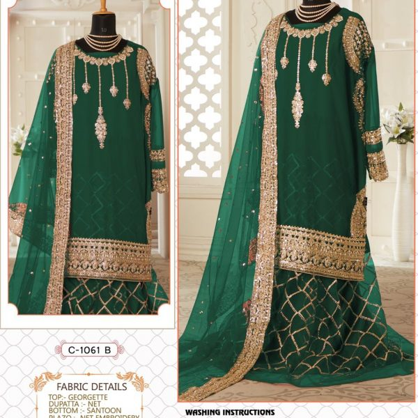 FEPIC C 1061 B WHOLESALER OF PAKISTANI SUITS ONLINE