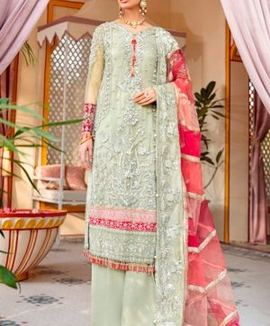 RAMSHA R 267 PAKISTANI SUITS FOR ONLINE RESELLERS
