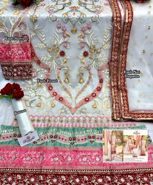 RAMSHA R 262 PAKISTANI SUITS FOR ONLINE RESELLERS