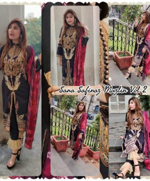 SS FASHION FAIZA GREEN PAKISTANI SUITS ONLINE