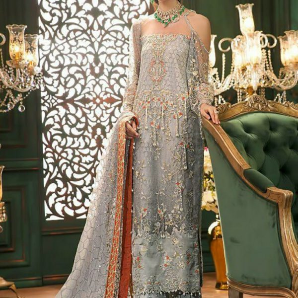 COSMOS PAKISTANI SUITS IN SINGLE PIECE WHOLESALE