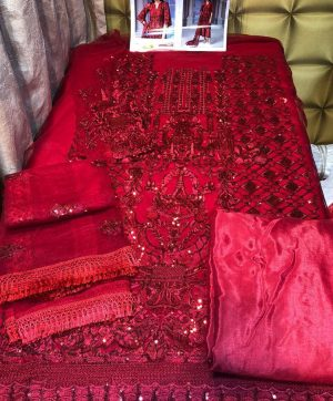 LAAIBAH CRIMSON 8144 WHOLESALE PAKISTANI SUITS