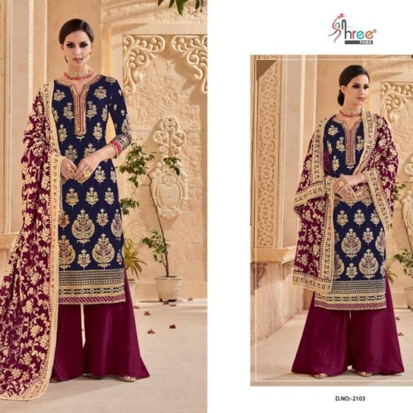 SHREE FABS MUTIYAAR 2103 BRIDAL WEAR WHOLESALE