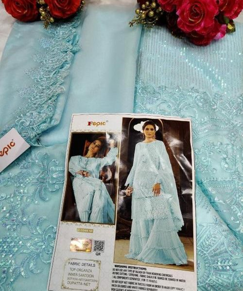 FEPIC C 1046 M PAKISTANI SUITS ONLINE WHOLESALER (1)