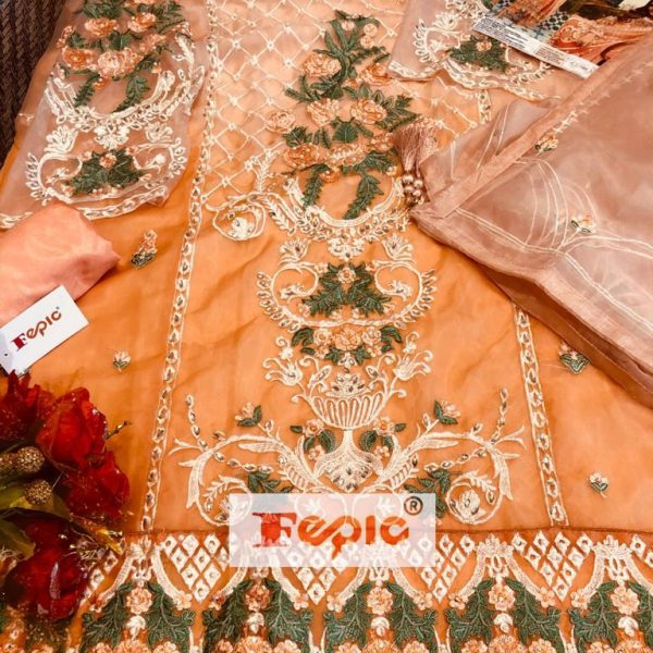 FEPIC C 1064 WHOLESALE PAKISTANI SUITS