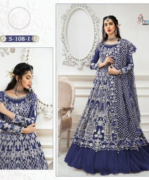 SHREE FABS S 108 I NEW COLORS IN SINGLES