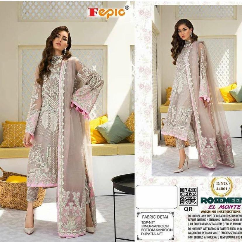 FEPIC 44001 ELMONTE PAKISTANI SUITS ONLINE