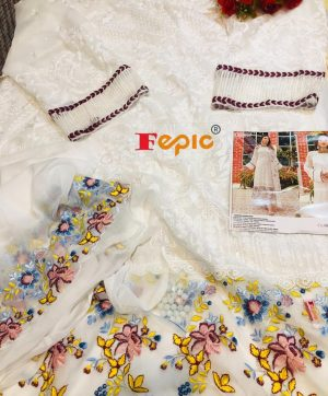 FEPIC C 1081 PAKISTANI SUITS IN SINGLES BEST PRICE