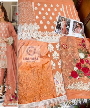 SHANAYA S 22 NEW COLORS PAKISTANI SUITS ONLINE