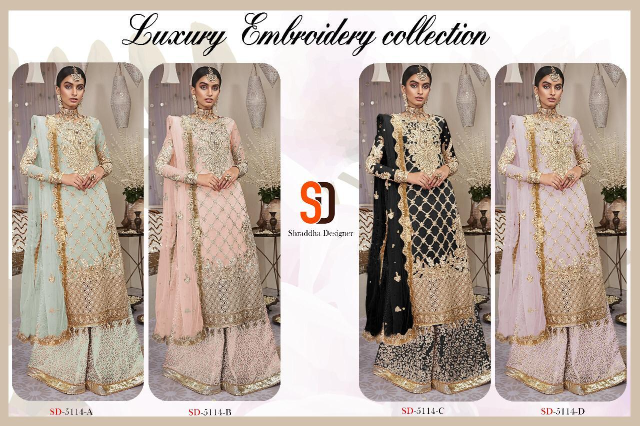 SHRADDHA DESIGNER 5114 COLORS WHOLESALE (1)