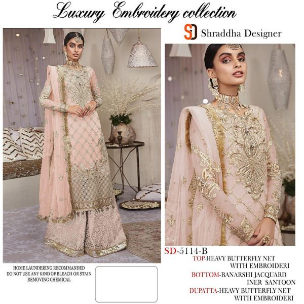 SHRADDHA DESIGNER 5114 COLORS WHOLESALE (4)