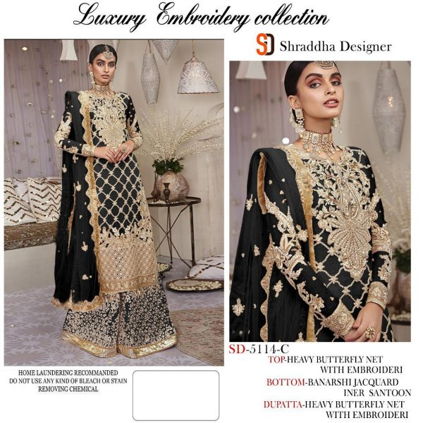 SHRADDHA DESIGNER 5114 COLORS WHOLESALE (5)