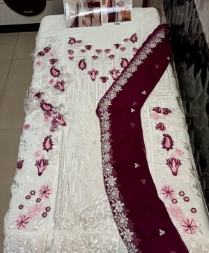 HOOR TEX 17016 PAKISTANI SUITS IN SINGLES