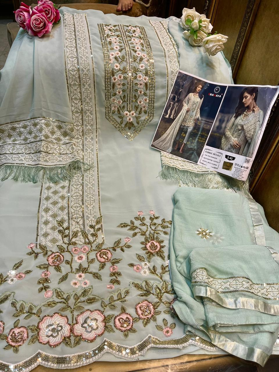 SHANAYA S 43 WHOLESALE PAKISTANI SUITS WHOLESALE
