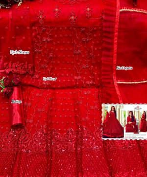 RAMSHA 256 PAKISTANI SUITS WHOLESALER SURAT