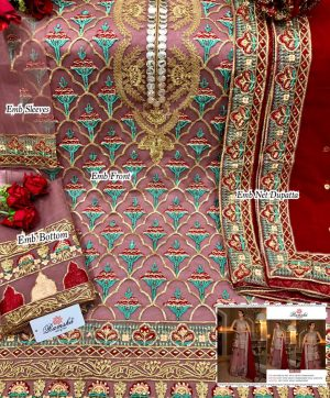 RAMSHA 255 PAKISTANI SUITS BEST RATE SURAT