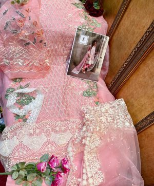 ZIAAZ DESIGNER SOBIA PINK PAKISTANI SUITS WHOLESALER
