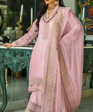FEPIC C 1080 B PINK PAKISTANI SUITS WHOLESALER
