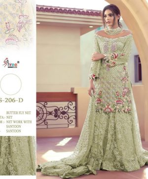 SHREE FABS 206 D NEW COLOR WHOLESALE SALWAR KAMEEZ