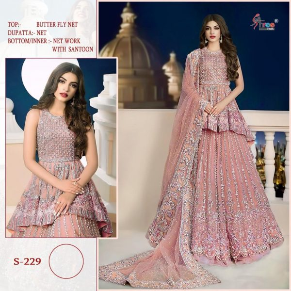 SHREE FABS S 229 DESIGNER COLLECTION