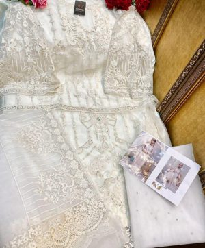 HOOR TEX 16019 WHITE SALWAR KAMEEZ ONLINE