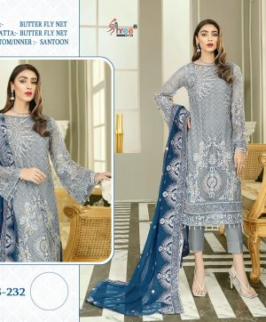 SHREE FABS S 232 DESIGNER PARTY WEAR COLLECTION