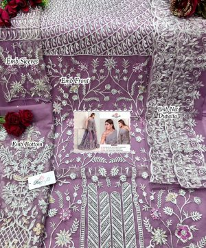 RAMSHA R 279 PAKISTANI SUITS WHOLESALER IN SINGLES