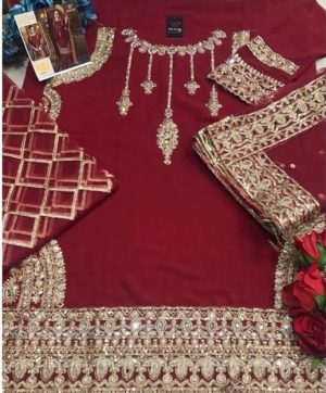 HOOR TEX 19009 A RED DESIGNER COLLECTION ONLINE