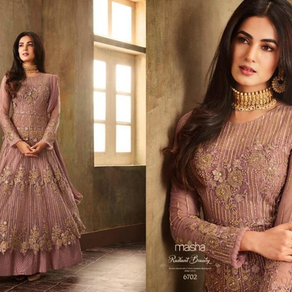 MAISHA 6702 DESIGNER GOWN WHOLESALE PRICE