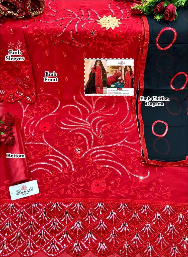 RAMSHA R 294 SALWAR KAMEEZ ONLINE BEST PRICE