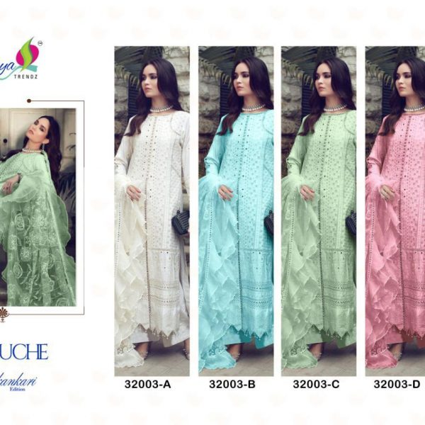 SANIYA TRENDZ 32003 COLORS IN SINGLES
