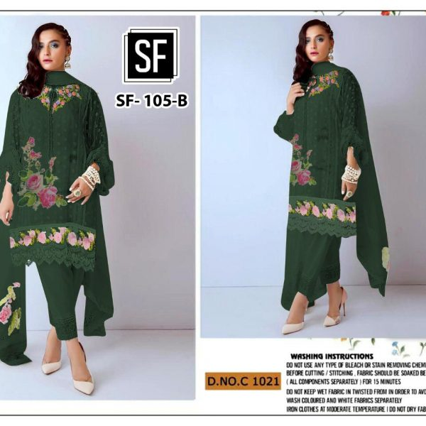 SF 105 COLORS PEHNAVA SALWAR KAMEEZ WHOLESALE (2)