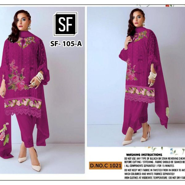 SF 105 COLORS PEHNAVA SALWAR KAMEEZ WHOLESALE (3)
