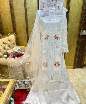 SHANAYA S 56 WHITE SALWAR KAMEEZ ONLINE