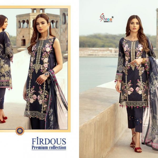 SHREE FABS FIRDOUS 1485 COTTON SUITS WHOLESALE (1)