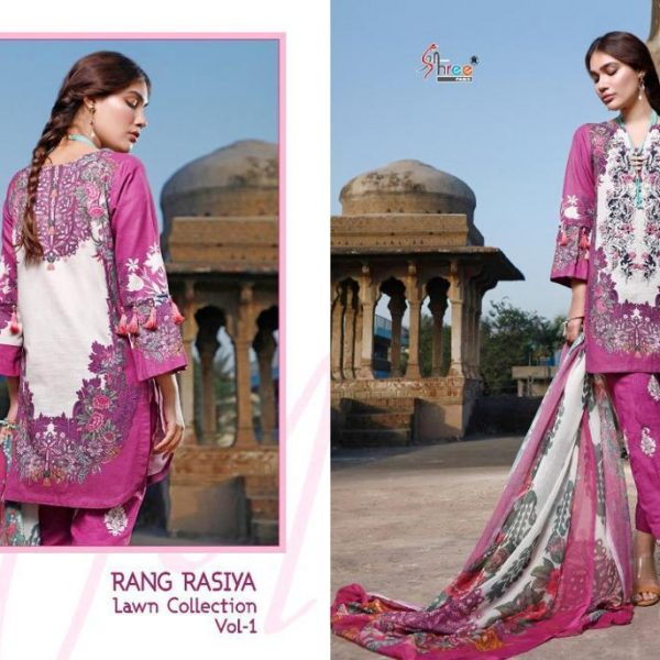 SHREE FABS RANG RASIYA VOL 1 WHOLESALE SINGLES (2)