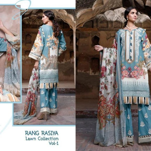 SHREE FABS RANG RASIYA VOL 1 WHOLESALE SINGLES (5)