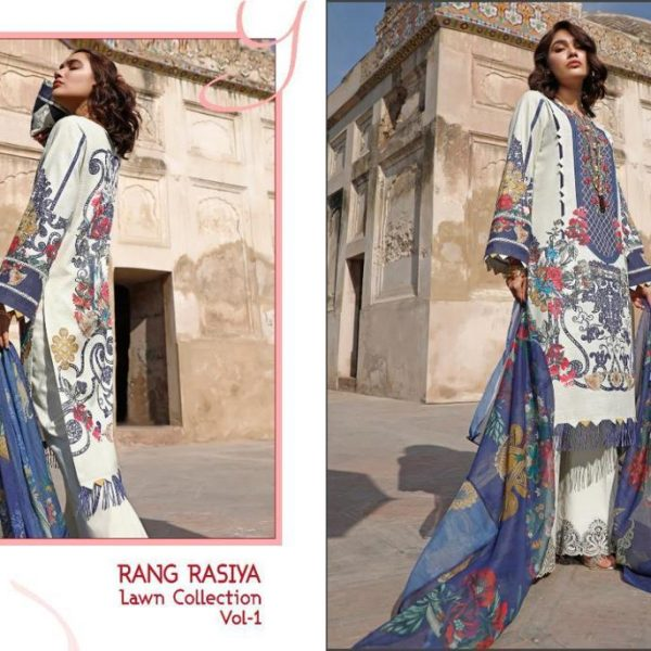 SHREE FABS RANG RASIYA VOL 1 WHOLESALE SINGLES (6)