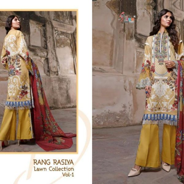 SHREE FABS RANG RASIYA VOL 1 WHOLESALE SINGLES (7)