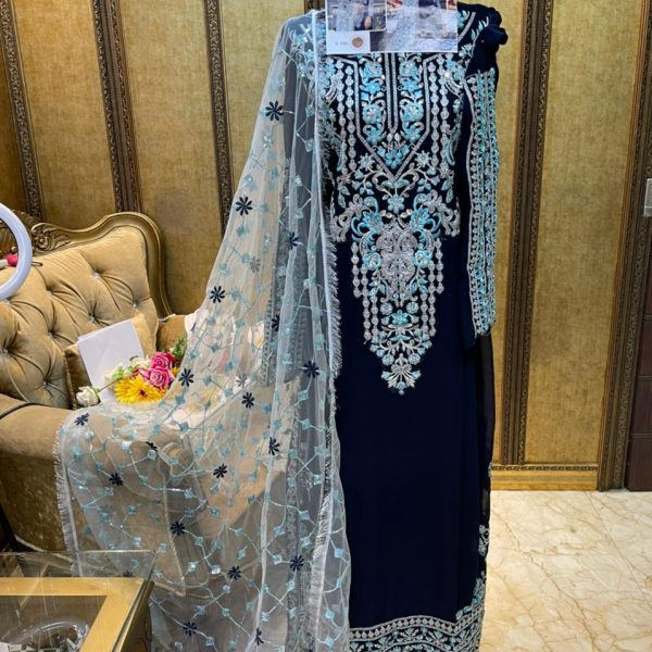 SHREE FABS S 235 GEORGETTE SUITS ONLINE