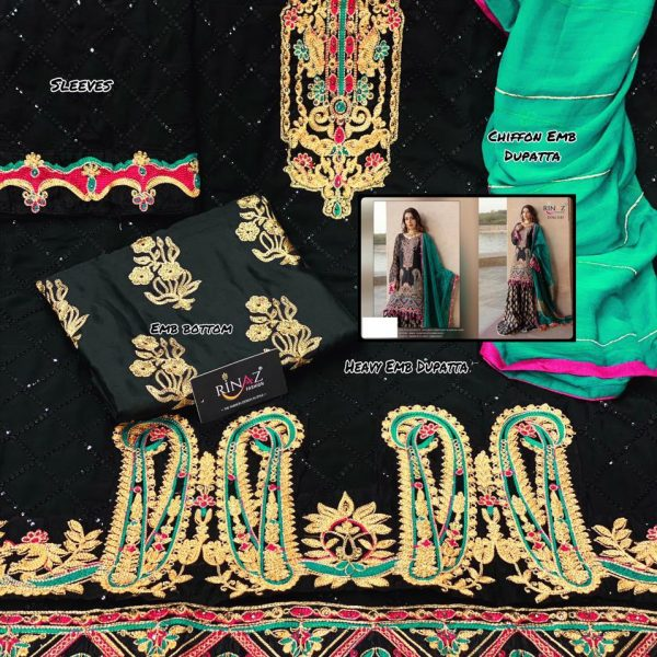 RINAZ FASHION 1181 BLACK SALWAR KAMEEZ ONLINE