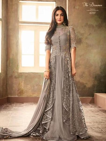 MAISHA 6707 DESIGNER GOWN WHOLESALE PRICE