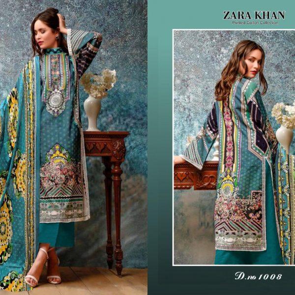 ZARA KHAN KARACHI SUITS IN SINGLE PIECE ONLINE (1)