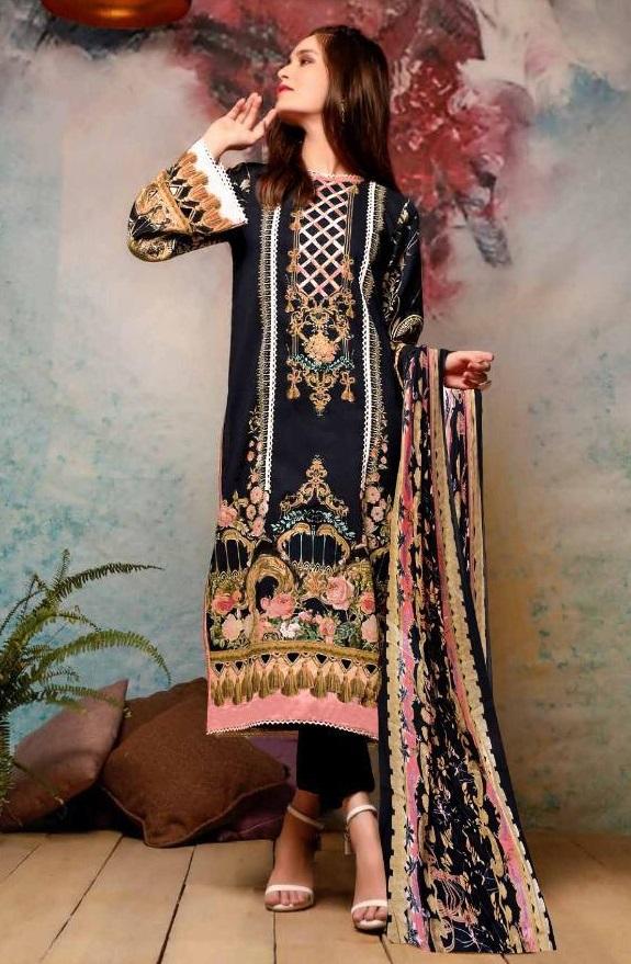 ZARA KHAN KARACHI SUITS IN SINGLE PIECE ONLINE (10)