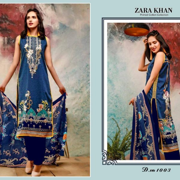 ZARA KHAN KARACHI SUITS IN SINGLE PIECE ONLINE (7)