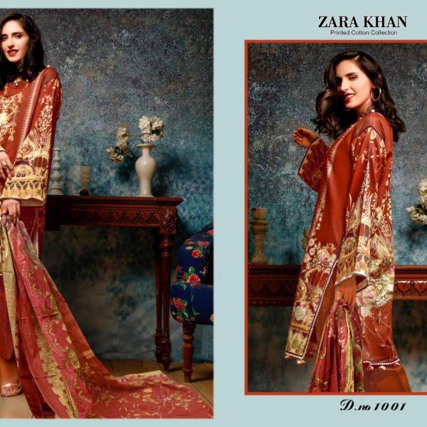 ZARA KHAN KARACHI SUITS IN SINGLE PIECE ONLINE (9)